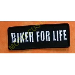 Patch, écusson biker for life