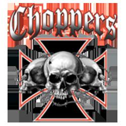 Sweat capuche avec zip skull choppers