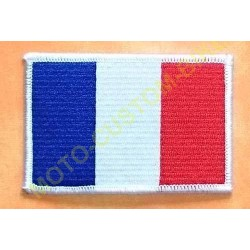 Patch, écusson drapeau Français