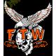 Sweat capuche avec zip FTW