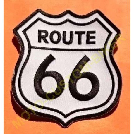Patch, écusson route 66