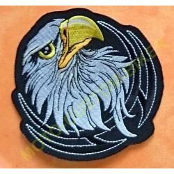 Patch, écusson tête d'aigle