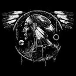 Sweat capuche avec zip eagle spirit