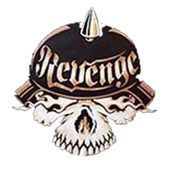 Sweat capuche avec zip revenge