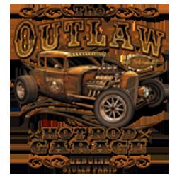 Sweat capuche avec zip biker outlaw