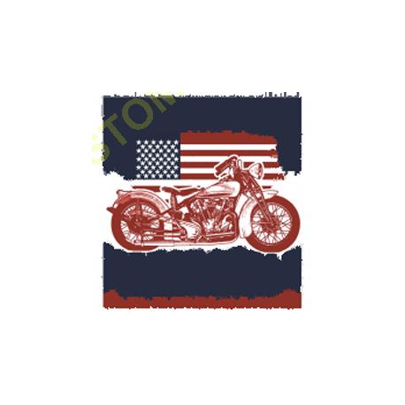 Sweat capuche avec zip american pride bike