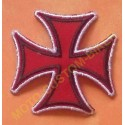 Patch, écusson croix de fer rouge