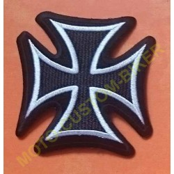 Patch, écusson croix de malte