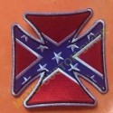 Patch, écusson Iron Cross Rebel Flag