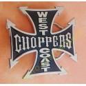 Boucle de ceinture west coast choppers noir