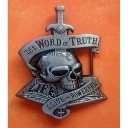 Boucle de ceinture word of truth