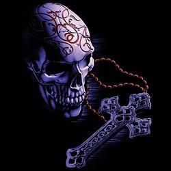 Sweat Femme rosary skull