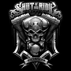 T shirt biker suar engine