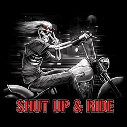 Débardeur homme shut up and ride