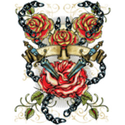 Sweat Femme dagger & roses