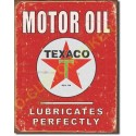 Plaque metal decorative texaco