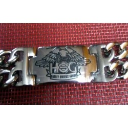 Bracelet biker Harley hog owners group