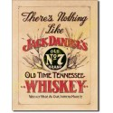 Plaque metal decorative Jack Daniel's nothing like