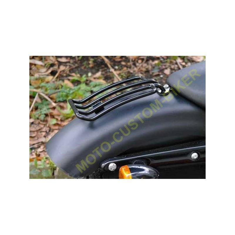 porte paquet noir pour sportster ou custom motocustombiker accessoiresbiker. Black Bedroom Furniture Sets. Home Design Ideas