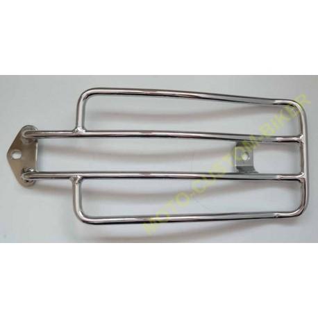Porte paquet chrome pour sportster ou custom