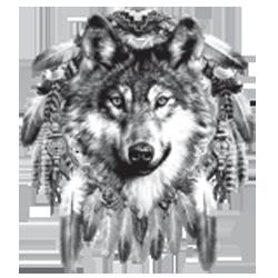 Sweat capuche zippé femme wolf