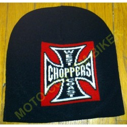 Bonnet biker croix de malte west coast