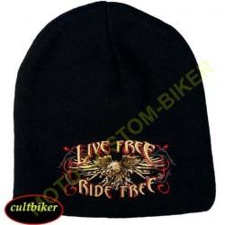 Bonnet biker live free