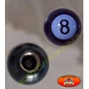 Bouchons de valves moto boule 8