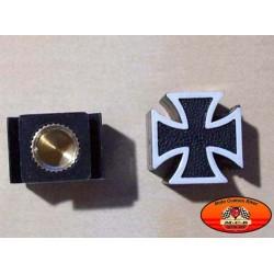 Bouchons de valves moto croix de malte