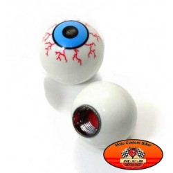 Bouchons de valves moto yeux