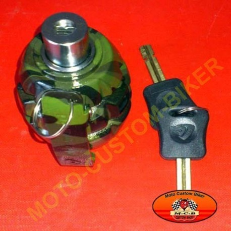 Bloques disque moto grenade camouflage