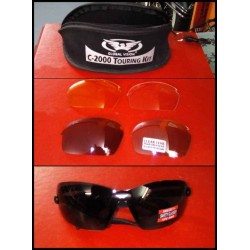 Lunette biker C-2000 touring kit