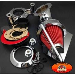Filtre à air apolo chromé pour Harley sportster de 91-2006 XL