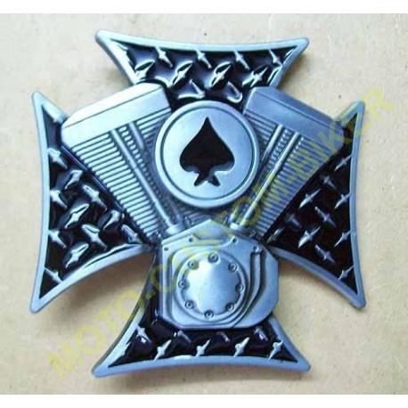 Boucle de ceinture Ace Poker Card