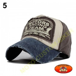 Casquette Motors racing old school n°5