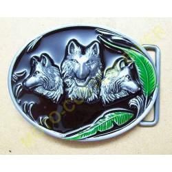 Boucle de ceinture tree wolf