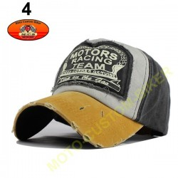 Casquette Motors racing old school n°4