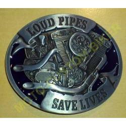 Boucle de ceinture loud pipes