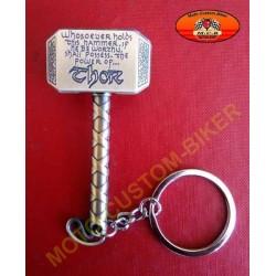 Porte cles marteau de Thor