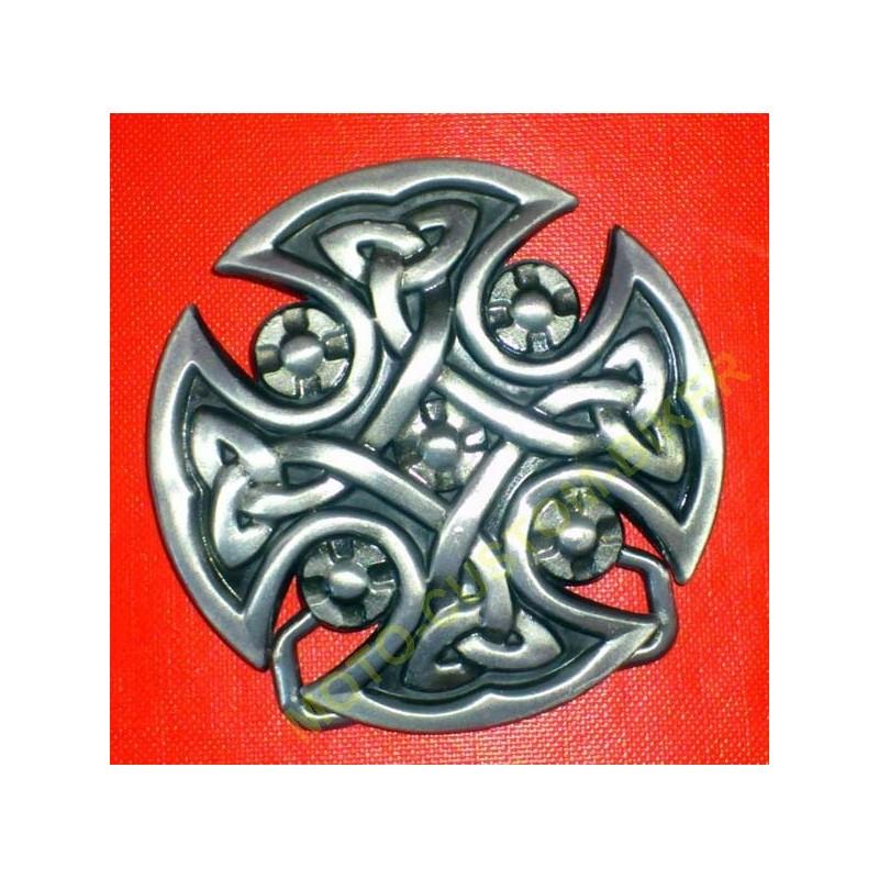 Boucle de ceinture croix de malte celtique - MotoCustomBiker ... 16893e2eddc
