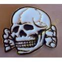 Boucle de ceinture german skull