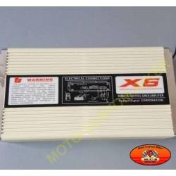 Sirène américaine 11 tons électronique avec ampli de 400w et télécommande sans fil
