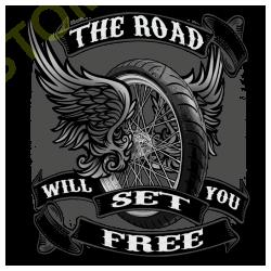 T shirt biker will set you