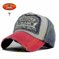 Casquette Motors racing old school n°7
