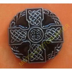 Boucle de ceinture celtic cross noir