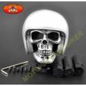 Pommeau de vitesses helmet skull silver