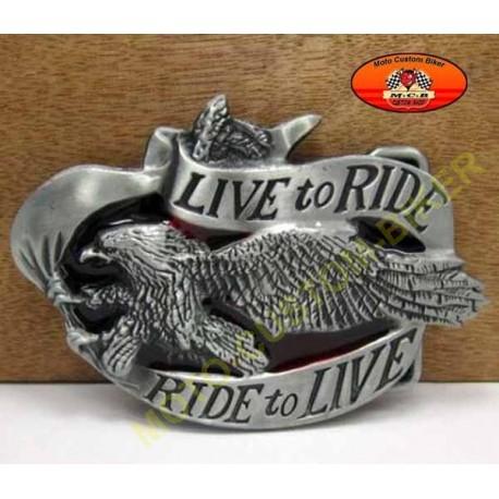 meilleur site profiter de prix bas site professionnel Boucle de ceinture live to ride - Moto-Custom-Biker