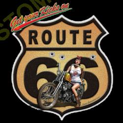 Débardeur homme route 66 moto