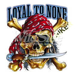 T Shirt enfant loyal to none