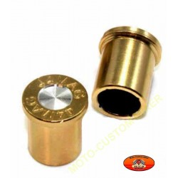 Bouchons de valves moto balle 44 mag